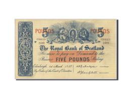Billet, Scotland, 5 Pounds, 1957, TTB+ - 5 Pounds