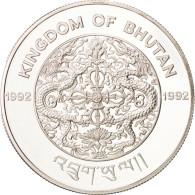 Monnaie, Bhoutan, 300 Ngultrums, 1992, FDC, Argent, KM:77 - Bhutan