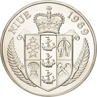 Monnaie, Niue, Elizabeth II, 50 Dollars, 1989, FDC, Argent, KM:44 - Niue
