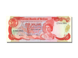 Billet, Belize, 5 Dollars, 1987, 1987-01-01, SPL - Belize