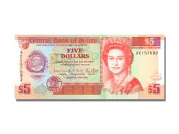 Billet, Belize, 5 Dollars, 1991, 1991-06-01, KM:53b, NEUF - Belize