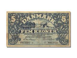 Billet, Danemark, 5 Kroner, 1942, TTB - Denmark