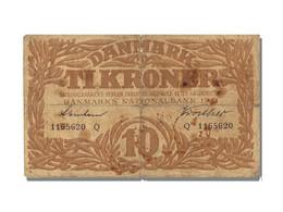 Billet, Danemark, 10 Kroner, 1941, TB+ - Denmark