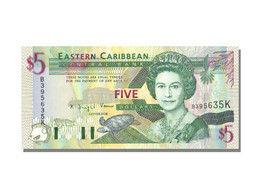 Billet, Etats Des Caraibes Orientales, 5 Dollars, KM:31k, NEUF - East Carribeans