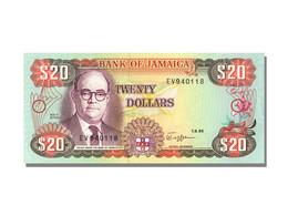Billet, Jamaica, 20 Dollars, 1989, 1989-09-01, KM:72c, NEUF - Jamaica