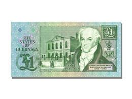 Billet, Guernsey, 1 Pound, KM:52a, NEUF - Guernsey