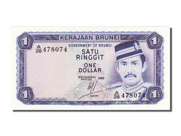Billet, BRUNEI, 1 Ringgit, 1983, NEUF - Brunei