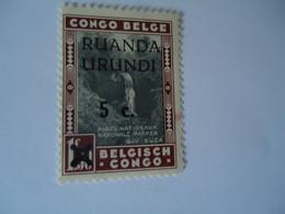 BURUNDI     MNH   STAMPS  BELGE   CONGO   OVERPRINT - Unclassified