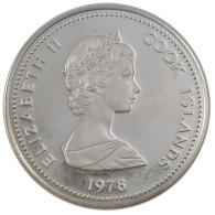 Monnaie, Îles Cook, Elizabeth II, 10 Dollars, 1978, FDC, Argent, KM:21 - Cook Islands