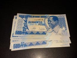 LOT 10 PCS - GUINEA BISSAU 500 PESOS 1990. UNC - Guinea-Bissau