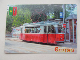 Ukraine Yevpatoria Tram Modern PC - Tranvía