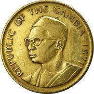 GAMBIA, THE, 10 Bututs, 1971, TTB+, Nickel-brass, KM:10 - Gambia