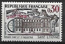 FRANCE   -    1960.   Y&T N° 1243 **  . Musée D'Art Et D'Industrie De St-Etienne - Neufs