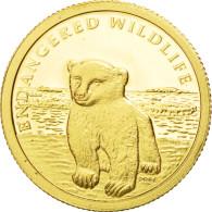 Monnaie, Îles Cook, Elizabeth II, 10 Dollars, 2008, FDC, Or, KM:1206 - Cook Islands