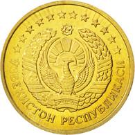 Monnaie, Uzbekistan, 5 Tiyin, 1994, SPL, Brass Plated Steel, KM:3.2 - Uzbekistan