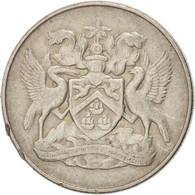 Monnaie, TRINIDAD & TOBAGO, 25 Cents, 1972, TTB, Copper-nickel, KM:4 - Trinidad & Tobago