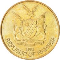 Monnaie, Namibia, 5 Dollars, 1993, SUP+, Laiton, KM:5 - Namibia