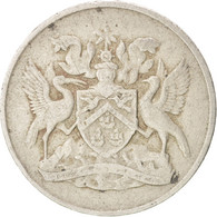 Monnaie, TRINIDAD & TOBAGO, 25 Cents, 1966, TB+, Copper-nickel, KM:4 - Trinidad & Tobago