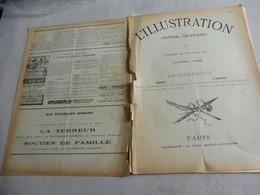 L'Illustration 28 Janvier 1893- AFFAIRE DU PANAMA-TRAINS ÉLECTRIQUES-ACCIDENT D'ALZONE-BOURNEMOUTH-SAINT CLOUD INCENDIE - 1850 - 1899