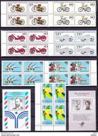 Duitsland West  Varia ** In Blok Van 4 St, Zeer Mooi Lot 3317 ( Cat + 70 € )    KOOPJE !!! - Unused Stamps