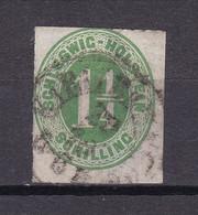 Schleswig-Holstein - 1865 - Michel Nr. 9 - Gestempelt - 30 Euro - Schleswig-Holstein