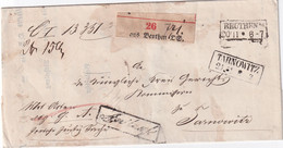 ALLEMAGNE 1863 LETTRE RECOMMANDEE DE BEUTHEN - Vorphilatelie