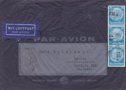 ALLEMAGNE. ENVELOPPE CIRCULEE A LA PAZ, BOLIVIE. ANNEE 1938. PAR AVION.- LILHU - Covers & Documents