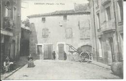 CREISSAN - LA PLACE ( Animées ) - Autres Communes