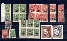 D114 - RUSSIA & Related Lot Of Very Old Stamps Mostly MNH CV?? - Andere