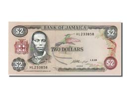 Billet, Jamaica, 2 Dollars, 1993, 1993-02-01, NEUF - Jamaica