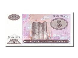 Billet, Azerbaïdjan, 5 Manat, 1993, NEUF - Azerbaïjan