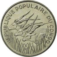 Monnaie, Congo Republic, 100 Francs, 1971, FDC, Nickel, KM:1 - Congo (Republic 1960)
