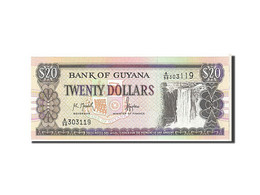 Billet, Guyana, 20 Dollars, 1996, KM:30a, NEUF - Guyana