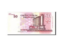 Billet, Swaziland, 50 Emalangeni, 2010, 2010-09-06, KM:38a, NEUF - Swaziland