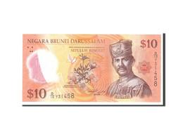 Billet, BRUNEI, 10 Ringgit, 2011, Undated, KM:37, NEUF - Brunei