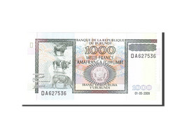 Billet, Burundi, 1000 Francs, 2009, 2009-05-01, KM:39e, NEUF - Burundi