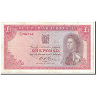Billet, Rhodésie, 1 Pound, 1967, 1967-08-18, KM:28b, TTB+ - Rhodesia