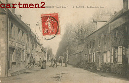 CANISY LA RUE DE LA GARE ANIMEE LEMOINE AUBERGE 50 MANCHE - Unclassified