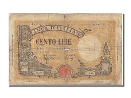 Billet, Italie, 100 Lire, 1943, 1943-10-08, B+ - 100 Lire