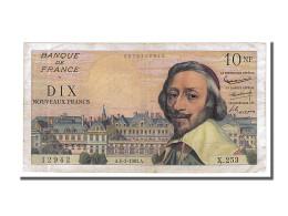 Billet, France, 10 Nouveaux Francs, 10 NF 1959-1963 ''Richelieu'', 1963 - 10 NF 1959-1963 ''Richelieu''