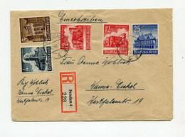 !!! ALLEMAGNE, LETTRE RECOMMANDEE DE POSTDAM DE 1940, BEL AFFRANCH - Covers & Documents