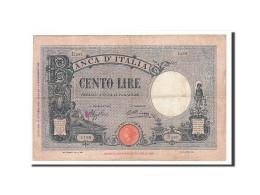 Billet, Italie, 100 Lire, 1934, 1934-10-17, KM:50c, TB+ - 100 Lire