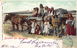 CPA SALUTARI DIN ROMANIA - Roemenië