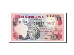 Billet, Malte, 10 Liri, 1979, Undated, KM:36b, NEUF - Malta
