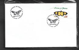 Bolivia Fdc Mariposas - Bolivia