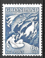 AFA # 35   Greenland Used 1957 - Gebraucht