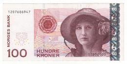 Billet, Norvège, 100 Kroner, 1999, KM:47b, SPL+ - Norway
