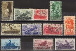 1934 ITALIA Medaglie Al Valore Militare 11 V. Misti (804) - Unclassified