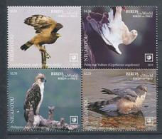 295 - NIUAFO OU 2019 - Yvert 470/73 - Oiseau - Neuf **(MNH) Sans Trace De Charniere - Tonga (1970-...)