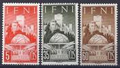 ESPAÑA/IFNI 1952 - Edifil #86/88 - MNH ** - Ifni